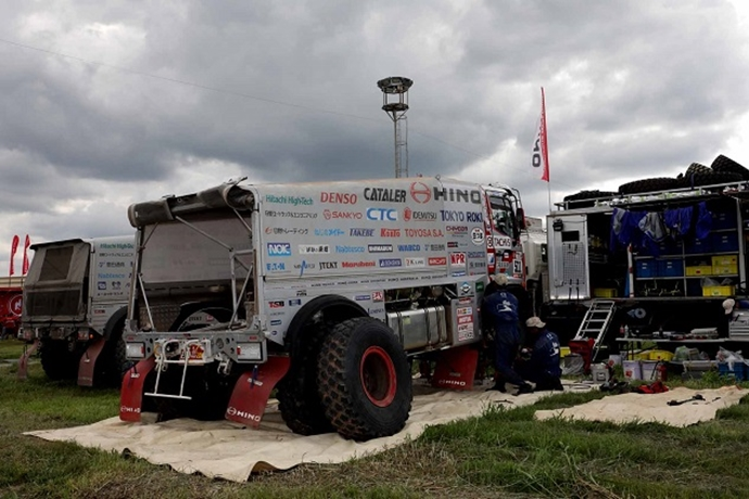 Dakar Race Competition Cancelled for the Day