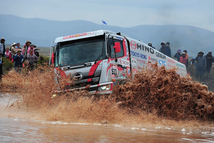 Second Half of the Rally Takes Off in the Highlands of Bolivia