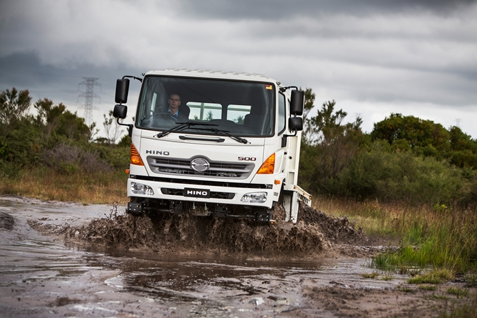 Continuing the evolution of the Hino 500 Series