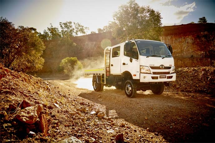 Hino 300 Series 4x4: More of everything