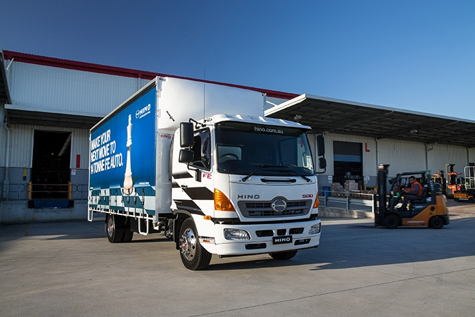 Hino Hybrid Truck Reviews >> HINO CELEBRATES HALF-CENTURY AT BRISBANE TRUCK SHOW