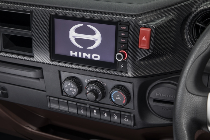 Intelligent technology abounds in Hino 500 Series Standard Cab