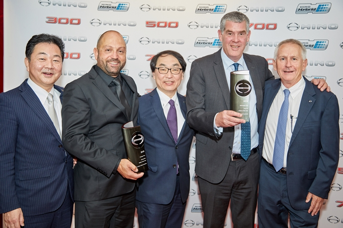 Hino crowns top dealers for 2018