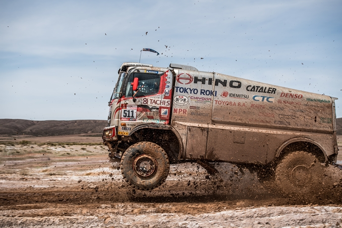 Dakar Rally at the heart of Hino Quality, Durability and Reliability