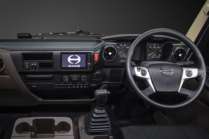 Next level style and comfort for  all-new Hino 500 Series Standard Cab