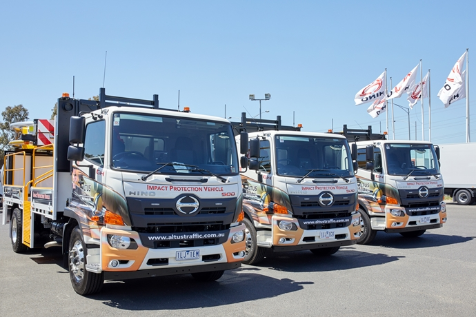 Safety first for Altus Traffic's 100th Hino