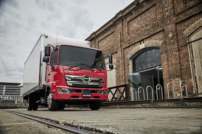 Hino takes safety to new levels  with 500 Series Standard Cab