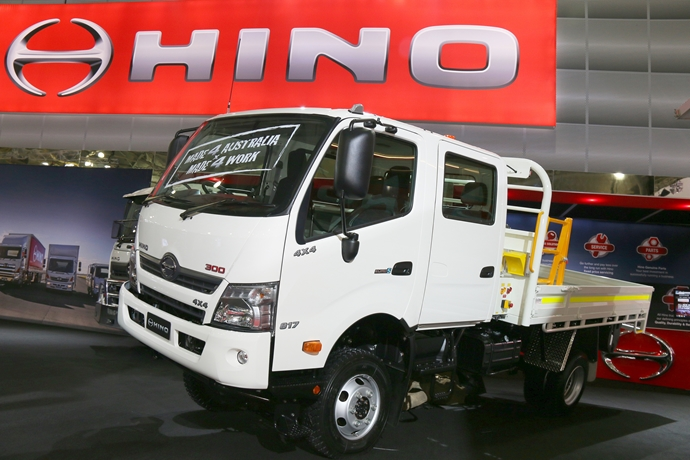World first reveal for Hino at Brisbane truck show