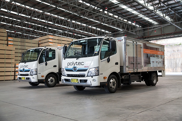 BORG MANUFACTURING ADDS HINO HYBRIDS TO FLEET