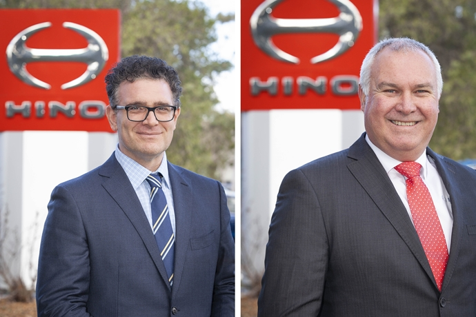 Commitment to customers guides Hino organisational changes