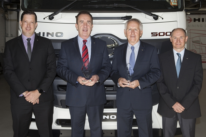 Six Years of Hino Australia as global parts and service leader