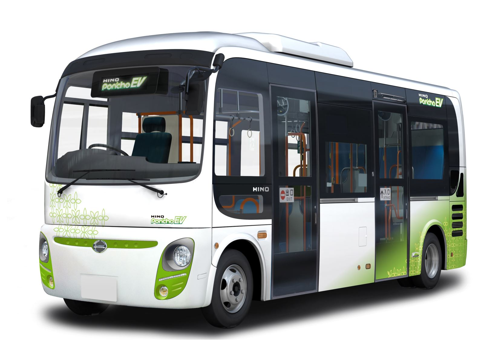 At the stand will also be the electric Hino Poncho bus, which is available for limited sale in Japan. It is the only light-duty non-step community bus in ...