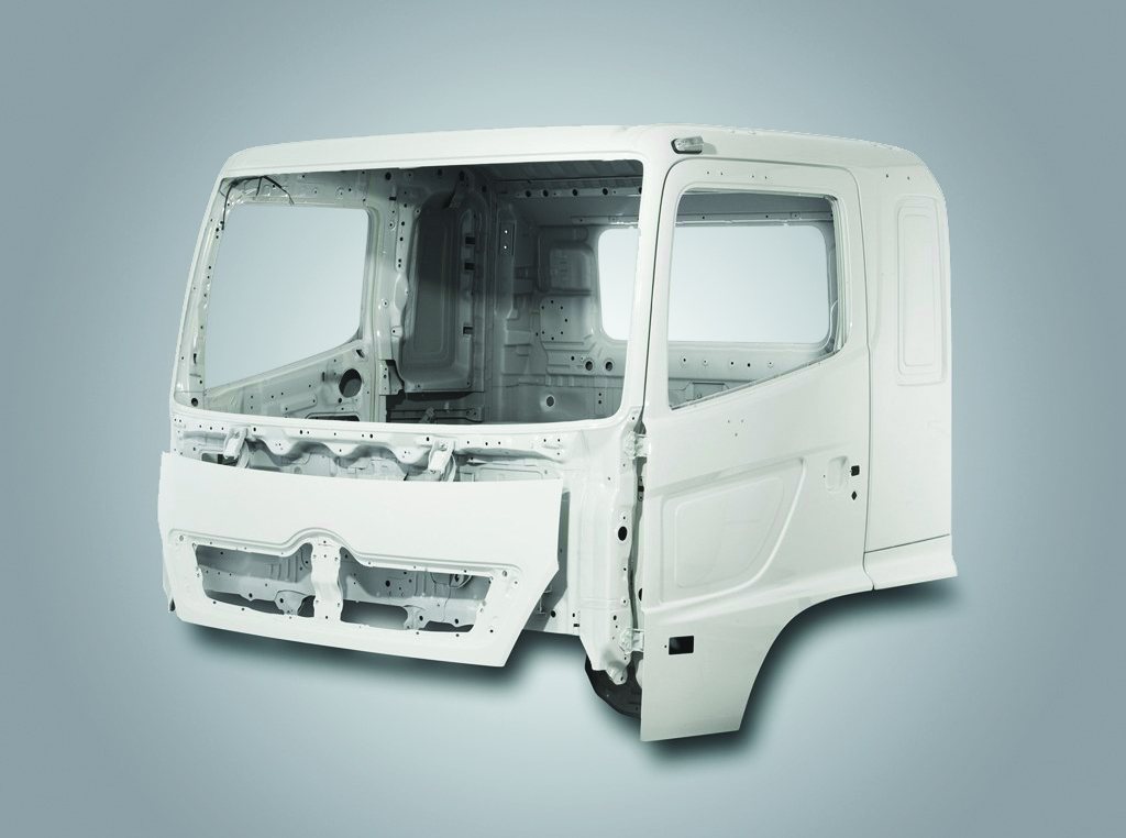 Hino 500 series body structure
