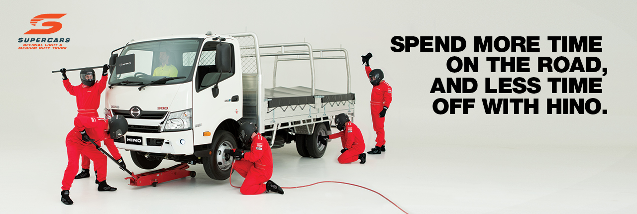 Spend more time on the road, and less time off with Hino.