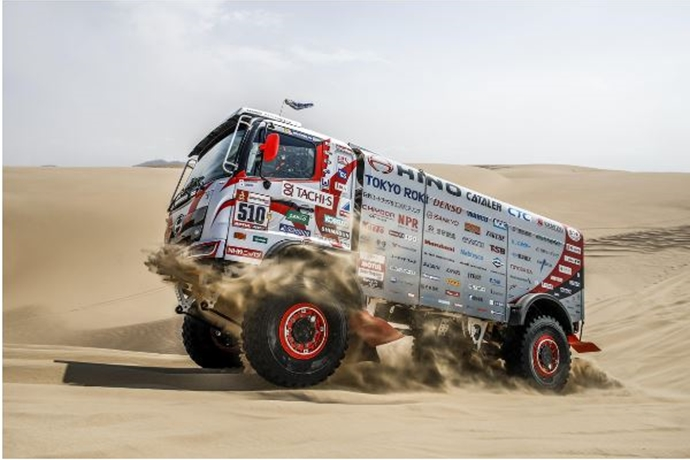 Hino Put to the Ultimate Dakar Challenge