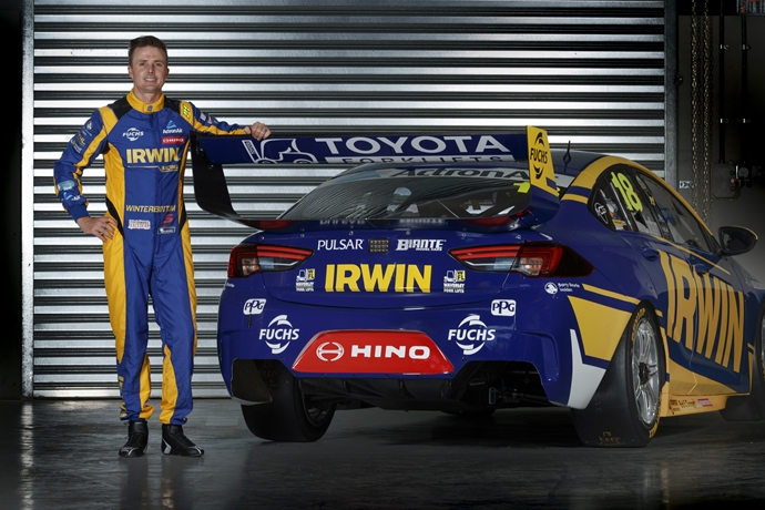 Hino on track with IRWIN Racing and Supercars in 2019