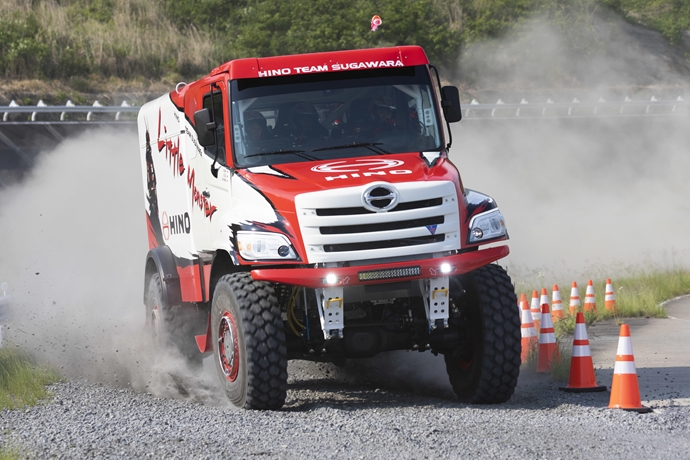 New Driver and New Truck for Hino Team Sugawara
