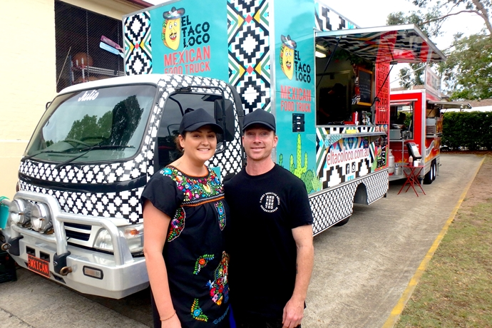 From turf to tacos: How this couple started a Mexican food truck