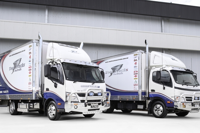 Tool Trucks Australia's fleet stands out from the crowd