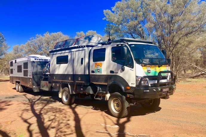 Hino Heroes head around Oz in a 300 Series 4x4