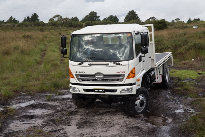 More Power, Torque and Payload for Updated Hino 500 Series GT