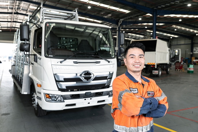Hino Addresses Industry Skills Shortage