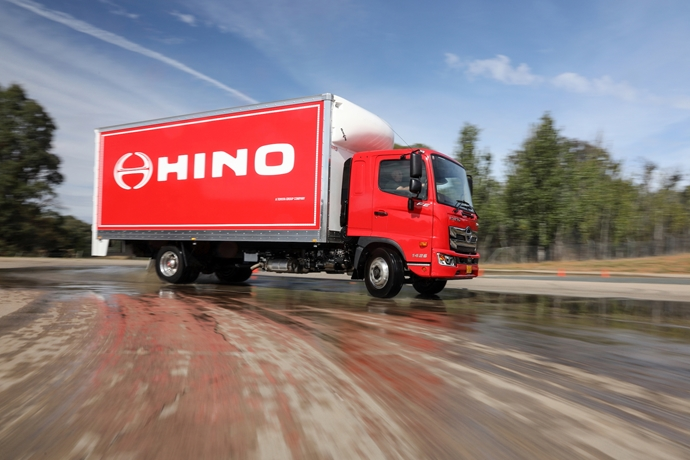 Hino revolutionising medium duty segment