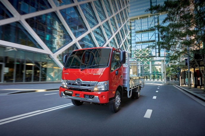 New Hino 300 Series: Built for safety, ready for anything