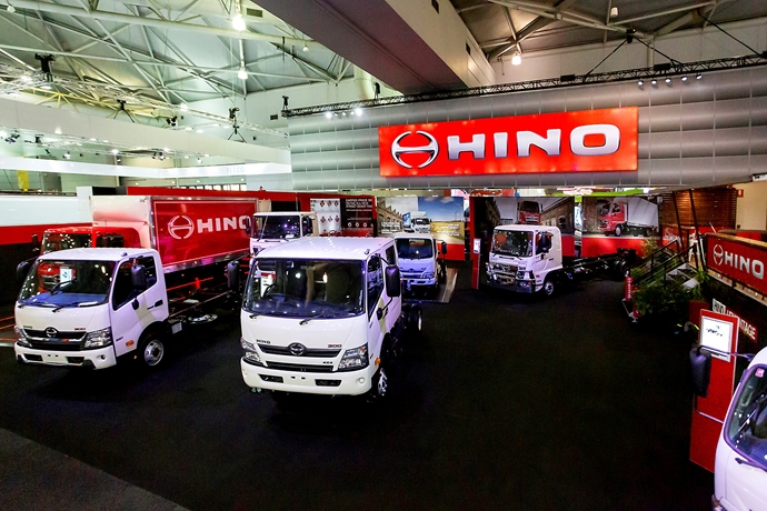Safety, innovation and technology the focus for Hino at Brisbane Truck Show