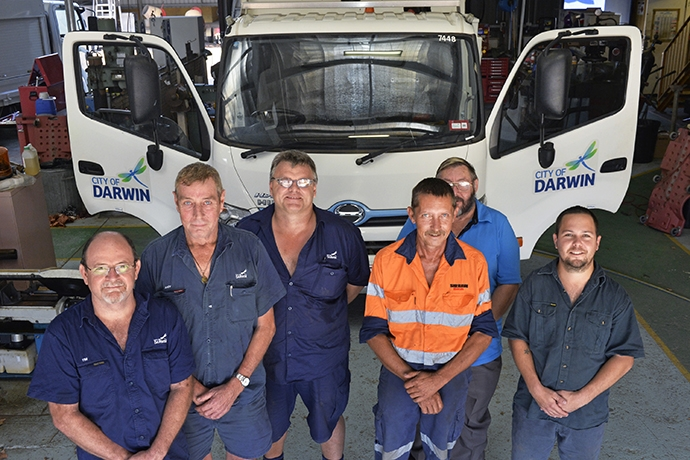 Hino Hybrid trusted for a decade of duty in Darwin