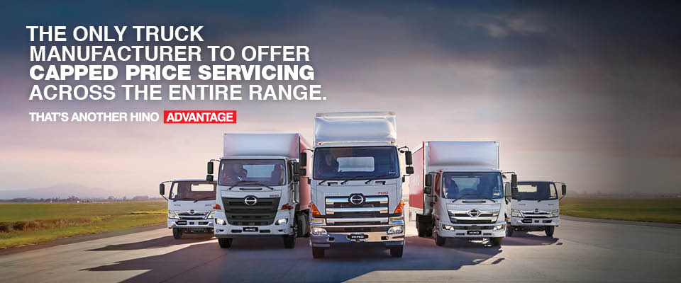 Hino Capped Price Service