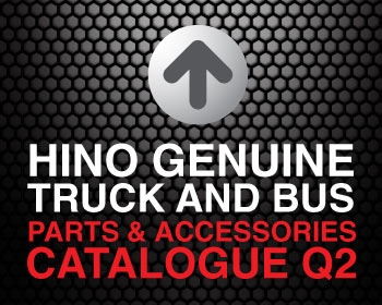 Hino Genuine Truck Parts and Accessories Catalogue Q2